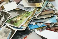 Old Vintage Postcards & Photos Collection UK & Foreign Random Mixed Selection