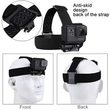 Adjustable Elastic Head Strap Mount Belt Harness For GoPro HERO5 Session 4 3+2 1