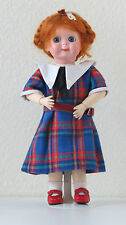 """JDK  221   Ref """"A""""  28 cm  11,6 Inch Poupée Ancienne  Reproduction Antique doll"""