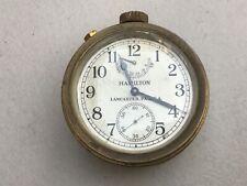 Vintage Hamilton Brass Ship Clock 21 jewels Lancaster, Pa. Usa Model 22 Us Navy