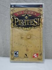 Sid Meier's Pirates (Sony PSP, 2007) BRAND NEW SEALED!! Game Games Handheld Nip