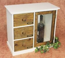 Armario Mini cómoda 12019 Mueble de cocina estantería 50cm Shabby Estante la