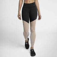 Nike Power Mid Rise Pocket Lux Training Tights Gym 892242-013 Many Sizes New