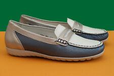 NEU♥WALDLÄUFER~Luxus Damen Schuhe~Gr.4,5H /ca.37,5~Leder Ballerinas Slipper♥NEU♥