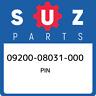 09200-08031-000 Suzuki Pin 0920008031000, New Genuine OEM Part