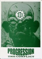 (RAVE FLYER 1995) PROGRESSION @ CORNWALL, ST IVES. DJ SCORPIO, CLARKEE