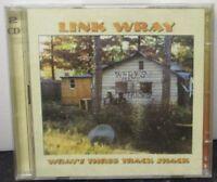 LINK WRAY - Wray's Three Track Shack ~ 2 x CD ALBUM