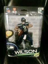 Seattle Seahawks Russell Wilson  McFarlane NFL 33 figure Sealed