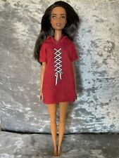 Barbie Fashionistas Doll - Latina/Ethnic, Brown Hair, Hoodie Dress