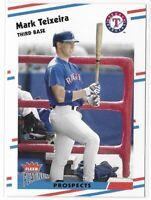 2003 Fleer Platinum Mark Teixeira Rookie Prospects Card No. 221