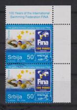 """Serbien Briefmarken  """"Int.Schwimm-Verb. FINA ´08"""" 2008 postfrisch 2 Stück"""