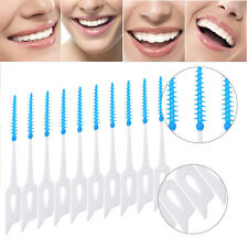 80pcs Oral Dental Picks Tooth Pick Interdental Brush Toothpick Oral Care EB