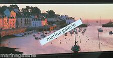 port breton Belle - Ile déco mer Bretagne poster photo couleurs panoramique 67cm