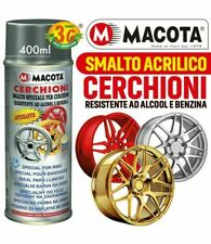 VERNICE SPRAY SMALTO SPECIALE PER CERCHIONI CERCHI MACOTA ANTIGRAFFIO 400ML