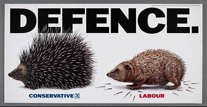 1992 Conservative Party anti Labour Defence Policies Poster A3 Print
