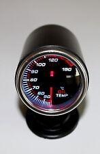 7 Colors Oil Temp Gauge Smoke Lens 12 Volt  Back Lit 150 Deg C - 40 Series w/Cup