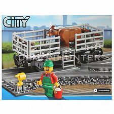 Lego City Cargo Cattle Wagon Carriage from 60052 Cargo Train Brand NEW