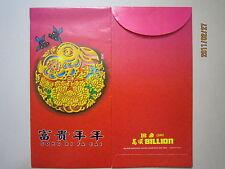 Billion Year 2011/Rabbit Chinese New Year Ang Pow/Red Money Packets 2pcs