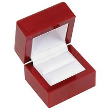 High Qual Cherry Rosewood Wood Wooden RING Jewelry Box