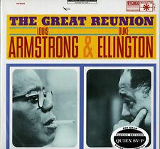 SR 52103 Louis Armstrong & Duke Ellington - THE GREAT REUNION - 200g LP - SEALED