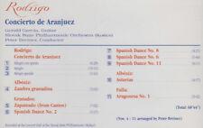 RODRIGO ALBENIZ GRANADOS CONCIERTO DE ARDANJUEZ CD 11 TKS