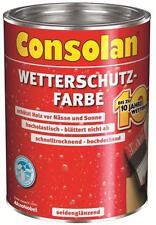 Consolan Wetterschutz-Farbe weiß 10 Liter NEUWARE Art. Nr. 5083190