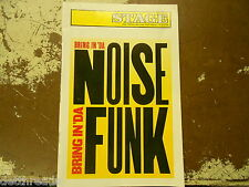 STAGE The Program for the Fisher Theatre - Nov 2, 1997 - Bring in 'da Noise Funk