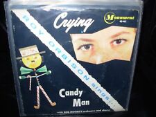 "ROY ORBISON crying / candy man ( rock ) 7""/45 picture sleeve"
