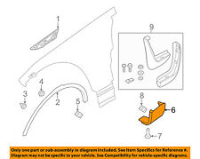 LAND ROVER OEM Discovery Front Fender-Lower Molding Trim Panel Right LR082681
