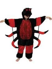 Child Kidz Black Red Spider Halloween Fancy Dress Insect Bug Costume Girls Boys