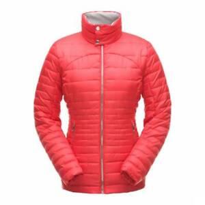 Spyder Edyn Lightweight Insulated Windproof Red Ski Jacket Coat S M L £180 BNWT