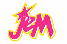 Jem and the Rockers Barbie VINYL DECAL 1980's 80's 90's cartoon sticker car cup