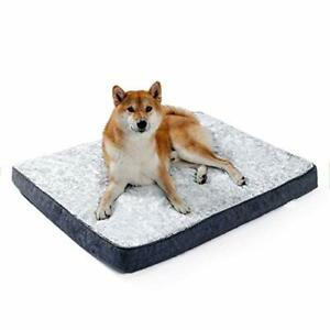 Memory Foam Dog Mattress Dog Bed Mat warm and comfortable with soft
