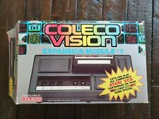 Coleco ColecoVision Console with Expansion module and games