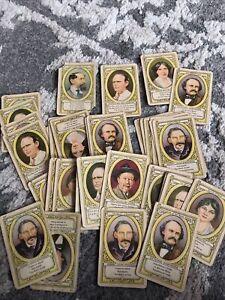 Vintage Authors Card Game Whitman USA