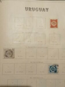 URUGUAY, collection of values used from the early years,complete and non-compl