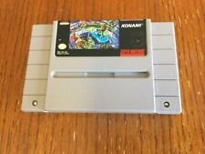 Turtles IV Turtles In Time TMNT Nintendo SNES Authentic! Tested and Working