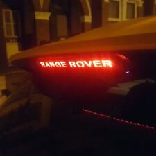 Range Rover Evoque Sport Rear Brake Light tailored lettering custom accessory