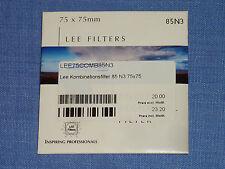 Lee Filter (Wratten) 75x75mm  85N3