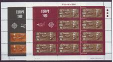 H.B. Europa cept 1980 Malta 615/16 Klb. MNH**