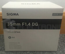 Nuovo Sigma 35mm F1.4 DG HSM Art Lens For Canon