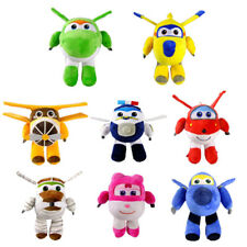 Super Wings Jett Plush Toys Super Wings Aircraft Robot Toys Kids Gift &&20cm/8""