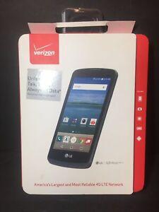 "LG Optimus Zone 3 -8GB -Black(Verizon)4.5"" Display Smartphone New In Box Sealed"