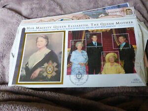 Queen Mother Collection Stamps, FDC Set 3 - high values