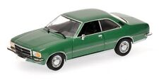 Opel Rekord D Coupe' 1975 Green Metallic 1:43 Model MINICHAMPS