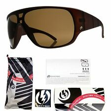 NEW Electric Shaker Mens Coffee Brown Bronze Lens Sunglasses Msrp$120