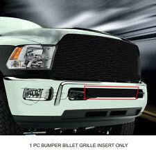 Black Lower Bumper Billet Grille Grill  For Dodge Ram 2500/3500 2013-2017