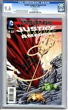 Justice League of America  #8   CGC   9.6   NM+   White pgs  12/13  Keith Champa