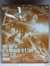 Premium Bandai Mg 1/100 Msz-006-3B Zeta Gundam Iii B Type Gray Zeta Evolve 9 Jpn