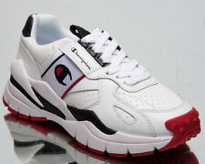Champion Honor Leather Women's Low White Casual Chunky Lifestyle Sneakers Shoes